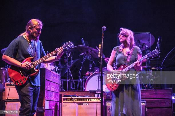 The Tedeschi Trucks band brought their newest tour to the Red Rocks park and Amphitheatre in Morrison CO on July 29 2017