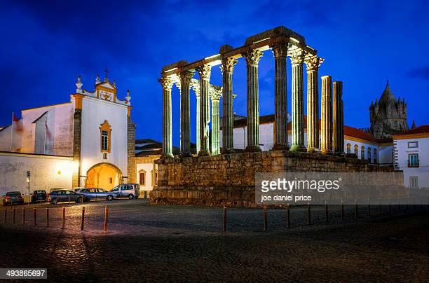 The Temple Diana, Evora, Alentejo, Portugal