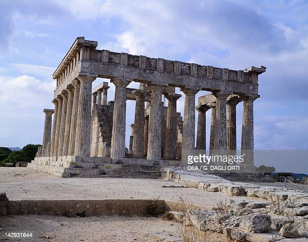 The Temple of Aphaia in Aegina Greece Greek civilization early 5th Century BC