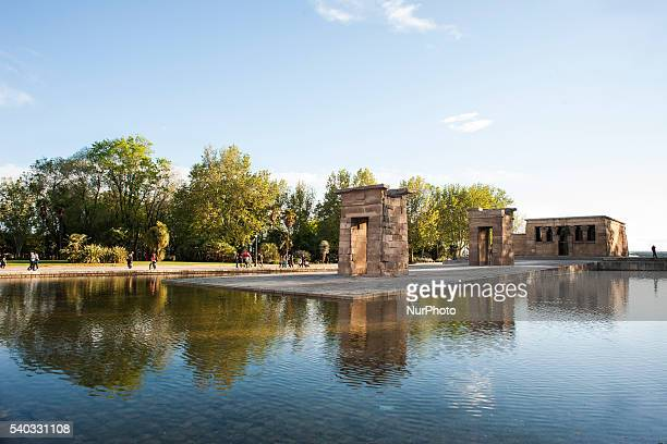 The Temple of Debod in Madrid was a gift from Egypt to Spain in 1968 in compensation for Spanish aid after the international call made by UNESCO to...