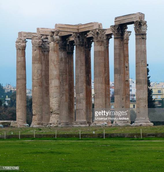Olympieion Stock Photos and Pictures  Getty Images