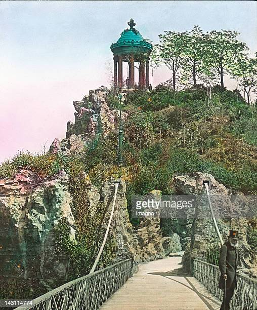 The Temple of Sibylle in the Parc des Buttes Chaumont The Buttes of Chaumont formerly were a place of exploitation of gypsum and chalk It was altered...