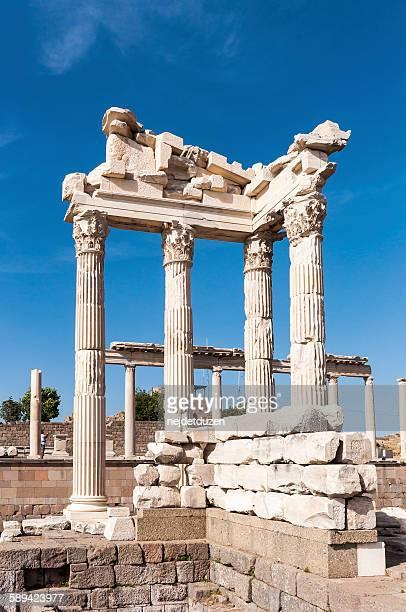 The temple of Trajan, Bergama