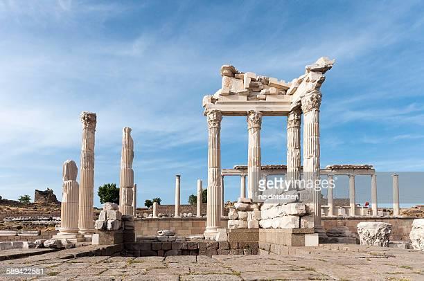 The Temple of Trajan, Pergamon