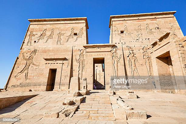 The Temple to Isis, at  Philae temple