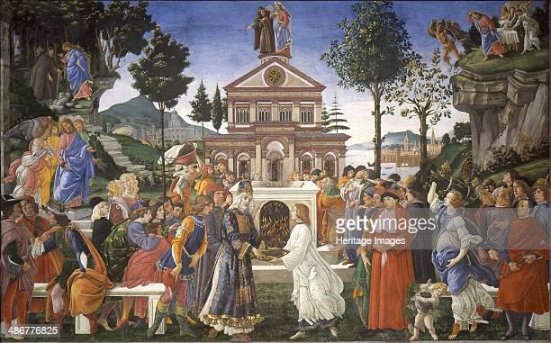 The Temptation of Christ 14811482 Artist Botticelli Sandro