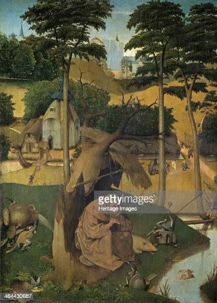 The Temptation of Saint Anthony c 1490 Found in the collection of the Museo del Prado Madrid