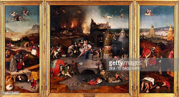 The Temptation of St Anthony by Hieronymus Bosch Lisbon Museu Nacional De Arte Antiga