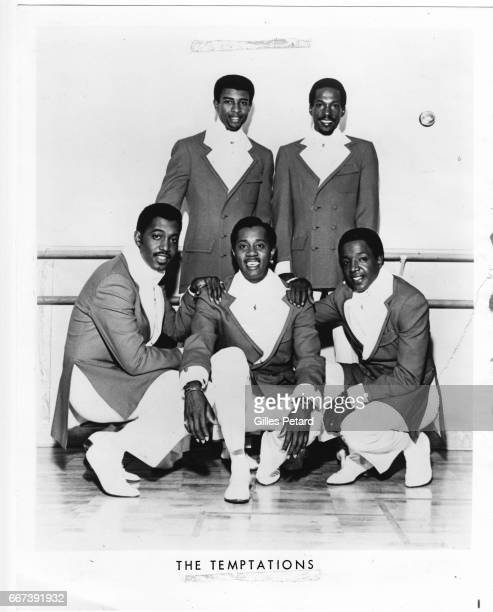 The Temptations studio portrait United States 1969