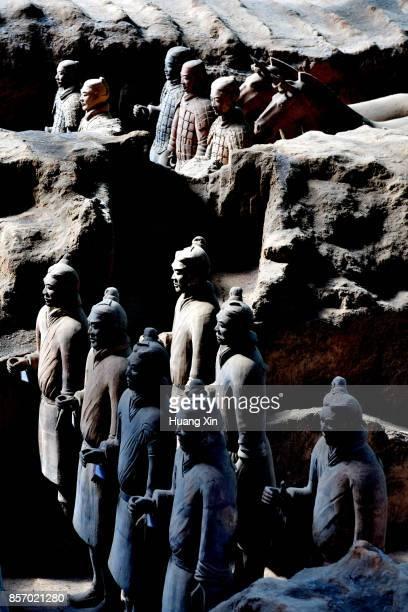 The Terra-cotta Warriors, Xian City, China