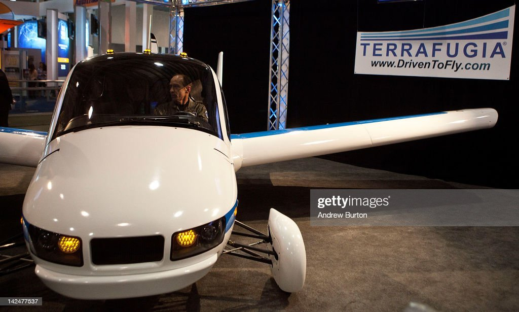The Terrafugia Transition is introduced at the 2012 New York International Auto Show on April 5, 2012 in New York City. The Transition is the first of its kind: it is simultaneously able to perform as an aircraft or a street-legal vehicle. The New York International Auto Show features nearly 1,000 brand new vehicles from all auto industry sectors and is open to the public April 6-15.