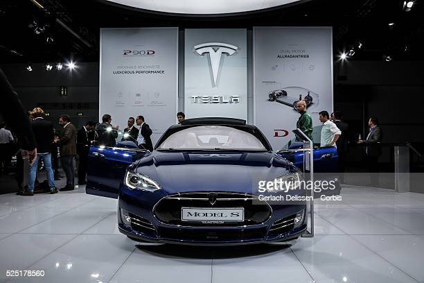 Tesla Model S Stock Photos And Pictures Getty Images - Automobil tesla