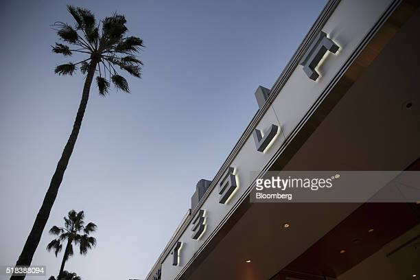 The Tesla Motors Inc store stands on the Third Street Promenade in Santa Monica California US on Wednesday March 30 2016 Tesla Motor Inc's first...