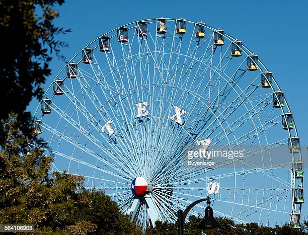 The Texas Star the Ferris wheel at the Texas State Fair in Dallas Texas As of the date of this photograph in 2012 it was the tallest Ferris wheel in...