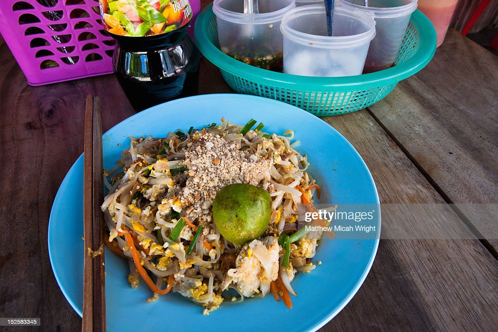 The Thailand staple, Pad Thai : Stock Photo