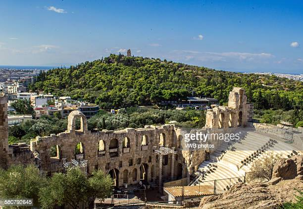 The Theatre of Herodes Atticus, Acropolis, Athens