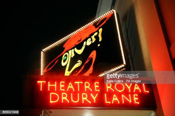 The Theatre Royal Drury Lane in London's West End currently showing Oliver