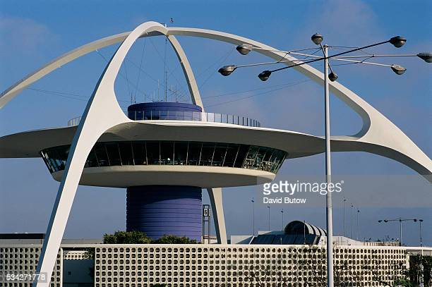 The Theme Building is a symbol of the Los Angeles International Airport