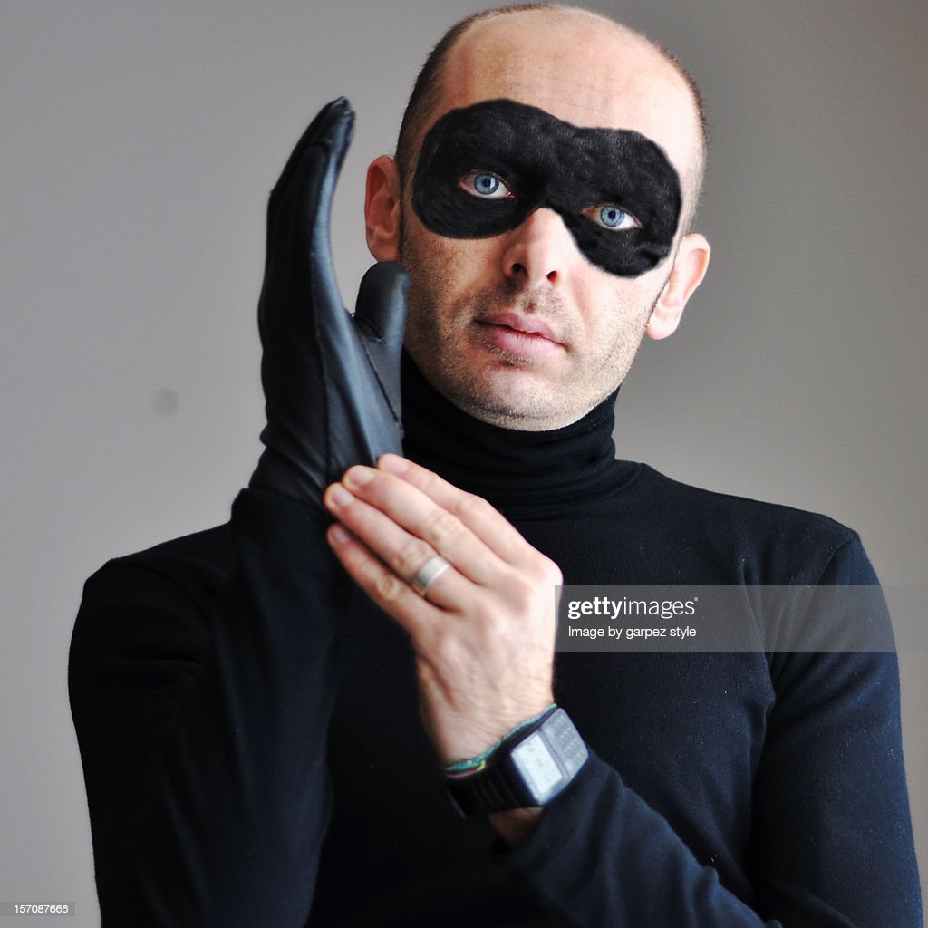 The thief : Stock Photo