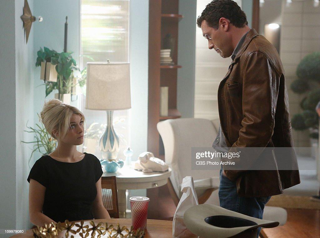 'The Third Man' -- Jack (Jason O'™Mara) breaks devastating news to Mia (Sarah Jones), on VEGAS Feb. 5 (10:00-11:00 PM, ET/PT) on the CBS Television Network.
