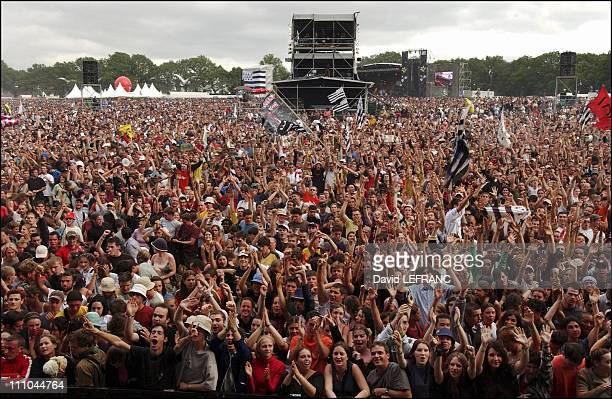 The Thirteen Of The Vieilles Charrues Festival in Carhaix France on July 25 2004