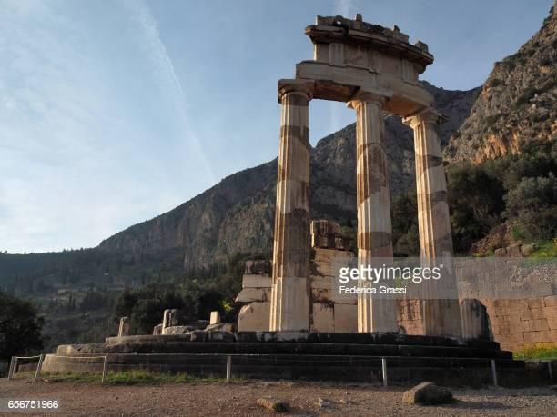 The Tholos, Delphi, Greece
