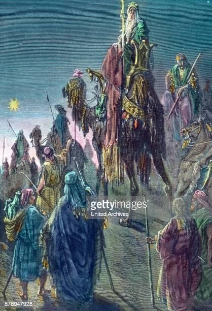 The Three Magi on the way to Bethlehem