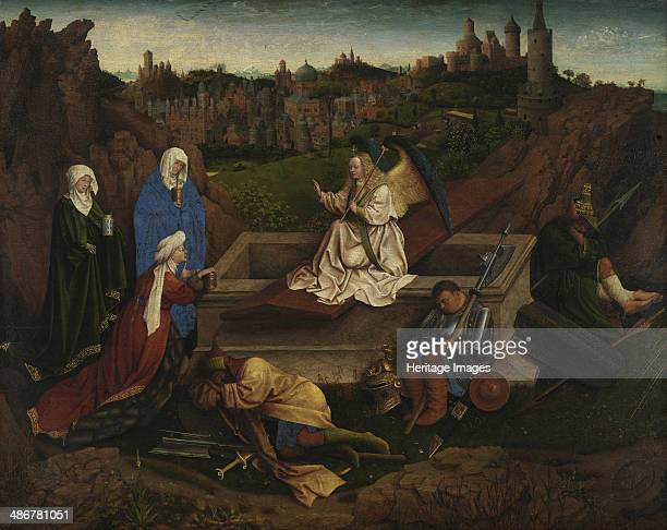 The Three Marys at the Sepulchre c 1440 Artist Eyck Hubert van