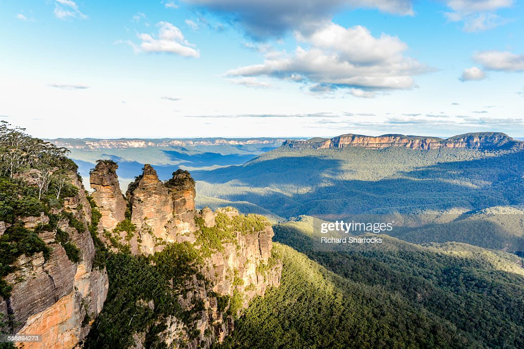 The Three Sisters, Blue Mountains, Australia : Stock Photo