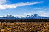 The Three Sisters in central Oregon