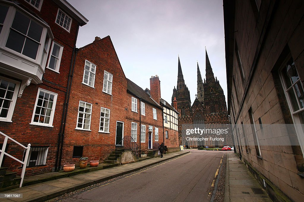The three spires of Lichfield Cathedral dominate the skyline as English Heritage announce grants for the maintenance of English cathedrals on...