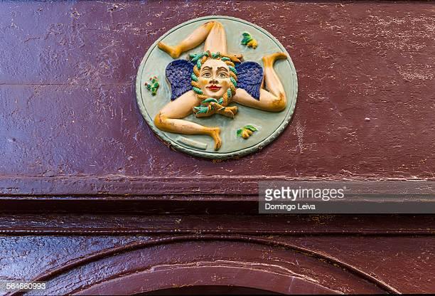 The three-legged symbol of Sicily