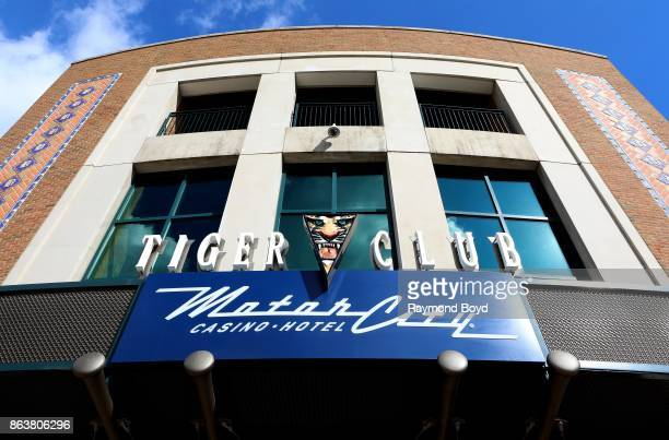 The Tiger Club at Comerica Park home of the Detroit Tigers baseball team in Detroit Michigan on October 13 2017