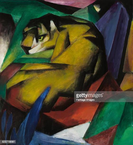 The tiger Found in the collection of Städtische Galerie im Lenbachhaus Munich