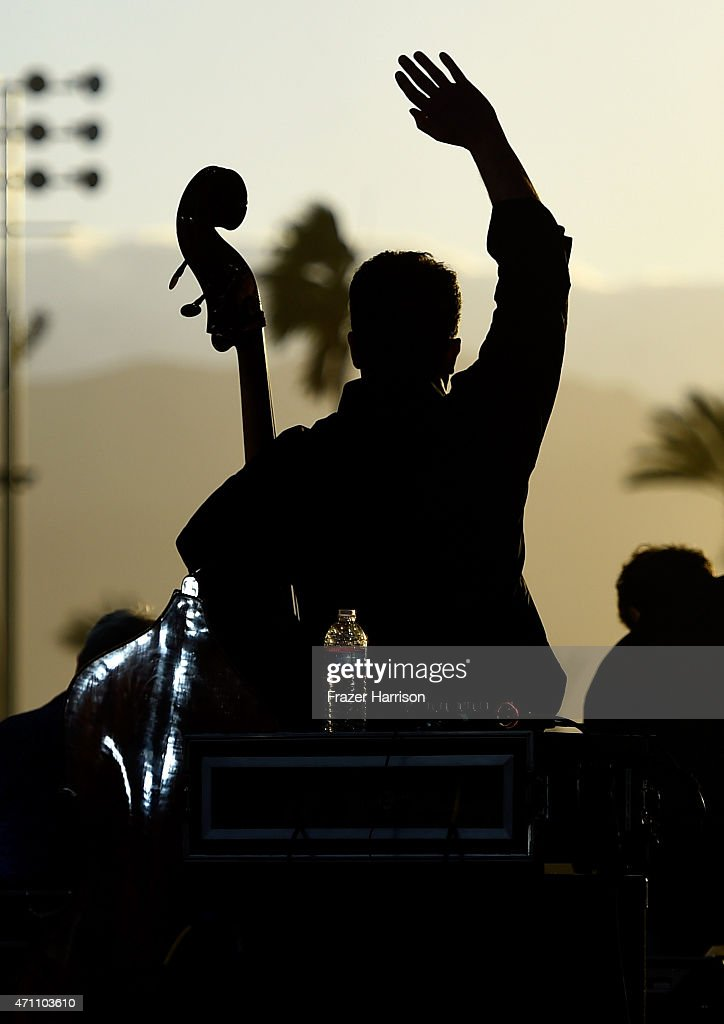 The Time Jumpers perform onstage during day one of 2015 Stagecoach, California's Country Music Festival, at The Empire Polo Club on April 24, 2015 in Indio, California.