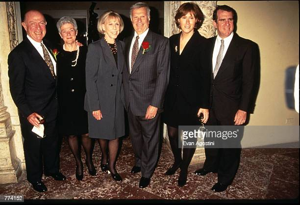 The Tisch Family Attends New York State Council On Arts 1996 Governors