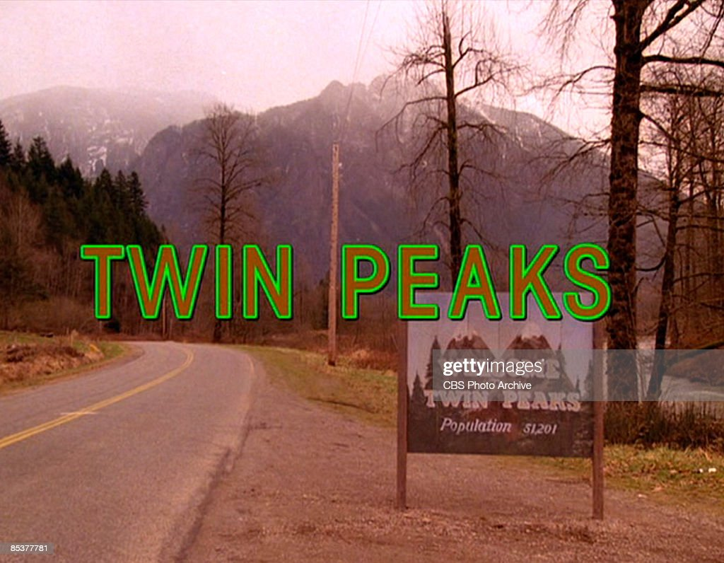 The title scene from the pilot episode of the television series 'Twin Peaks,' originally broadcast on April 8, 1990. It was filmed on Reinig Road in Snoqualmie, Washington.