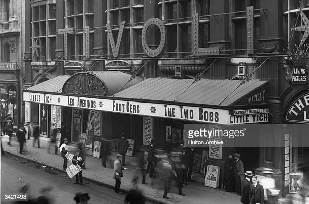 The Tivoli theatre on The Strand London