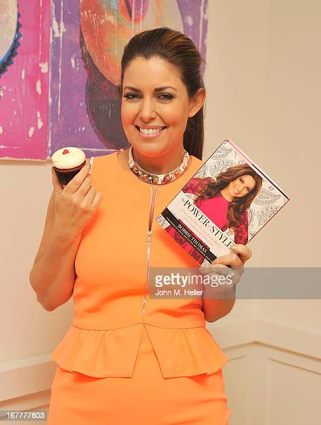 The 'Today Show's' style editor and fashion expert Bobbie Thomas signs copies of her new book 'The Power Of Style' at Georgetown Cupcakes in Los...