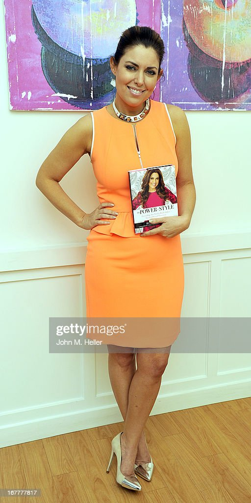 The 'Today Show's' style editor and fashion expert Bobbie Thomas signs copies of her new book 'The Power Of Style' at Georgetown Cupcakes in Los Angeles on April 29, 2013 in Los Angeles, California.