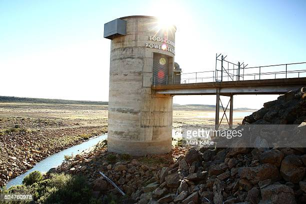 The Tods Corner pumpedstorage hydroelectric power station located on the southeastern shore of Great Lake is seen surrounded by dry land on April 17...
