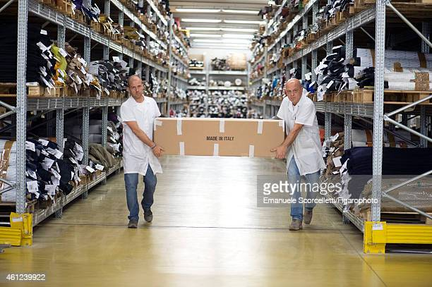 FIGARO ID 111370010 The Tod's factory is photographed for Le Figaro Magazine on July 29 2014 in Casette d'Ete Italy Some employees work at Tod's for...