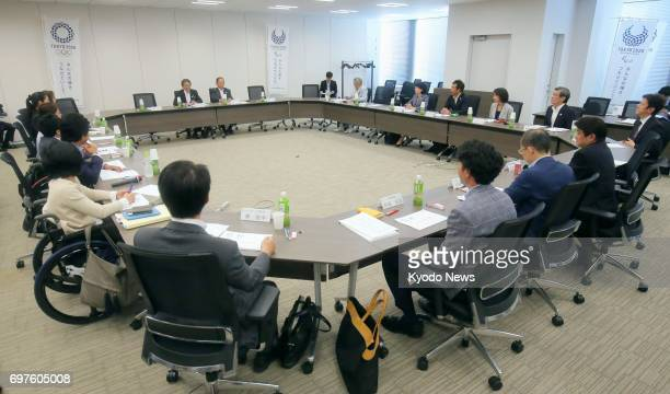 The Tokyo 2020 Olympics and Paralympics organizing committee holds a panel meeting in Tokyo on June 19 at which it decided that the judging of the...
