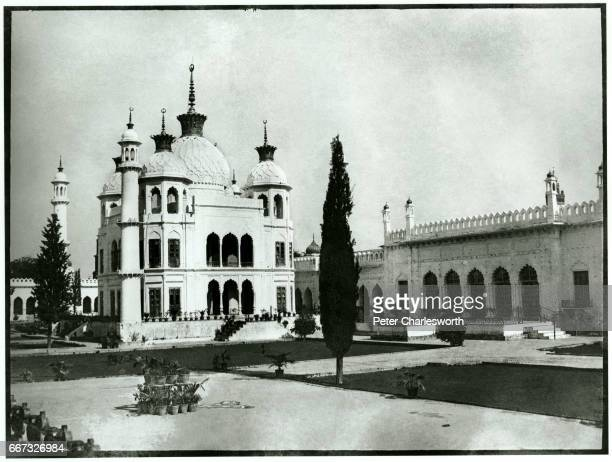 The Tomb of Princess Zinat Algiya the daughter of King Mohammad Ali Shah Bahadur the mausoleum is a small version or replica of the Taj Mahal in the...