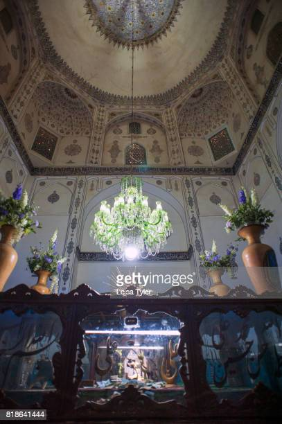 The tomb of Shah Nematollah Vali an Iranian mystic and poet in Mahan Iran