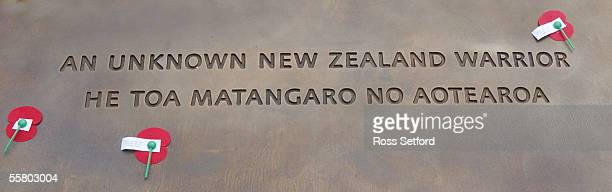 The tomb to the unknown warrior National War Memorial Wellington New Zealand Friday November 12 2004