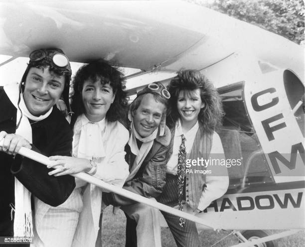 The Tomorrow's World team from LR Howard Stableford Judith Hann Peter Macann and Maggie Philbin * 3/1/03 It emerged that the BBC has axed the science...