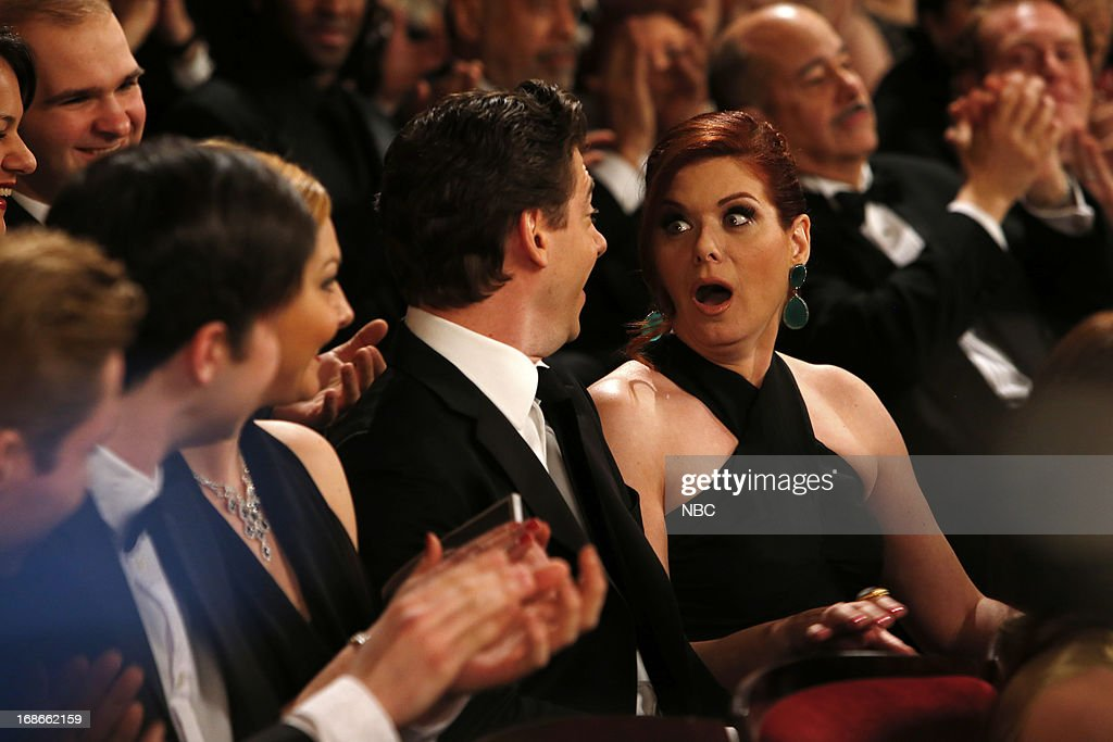 SMASH -- 'The Tonys' Episode 217 -- Pictured: <a gi-track='captionPersonalityLinkClicked' href=/galleries/search?phrase=Debra+Messing&family=editorial&specificpeople=202114 ng-click='$event.stopPropagation()'>Debra Messing</a> as Julia Houston --