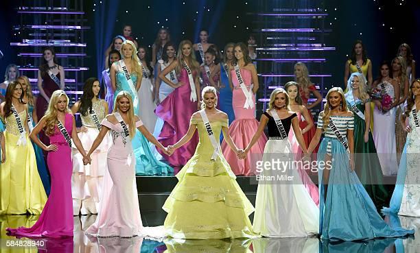 The top five finalists Miss North Carolina Teen USA 2016 Emily Wakeman Miss Nevada Teen USA 2016 Carissa Morrow Miss Texas Teen USA 2016 Karlie Hay...