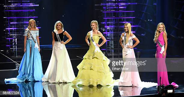 The top five finalists Miss South Carolina Teen USA 2016 Marley Stokes Miss Alabama Teen USA 2016 Erin Snow Miss Texas Teen USA 2016 Karlie Hay Miss...